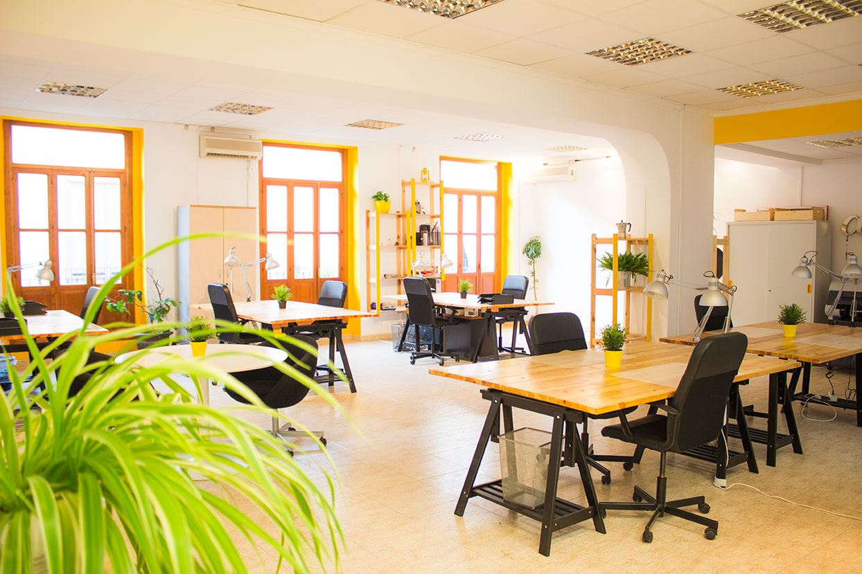 Alquilar coworking valencia