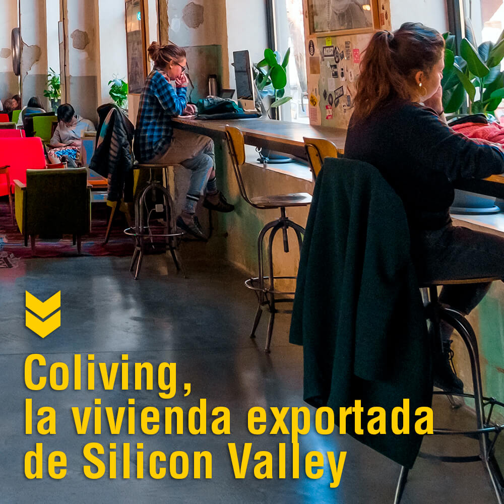 coliving y coworking