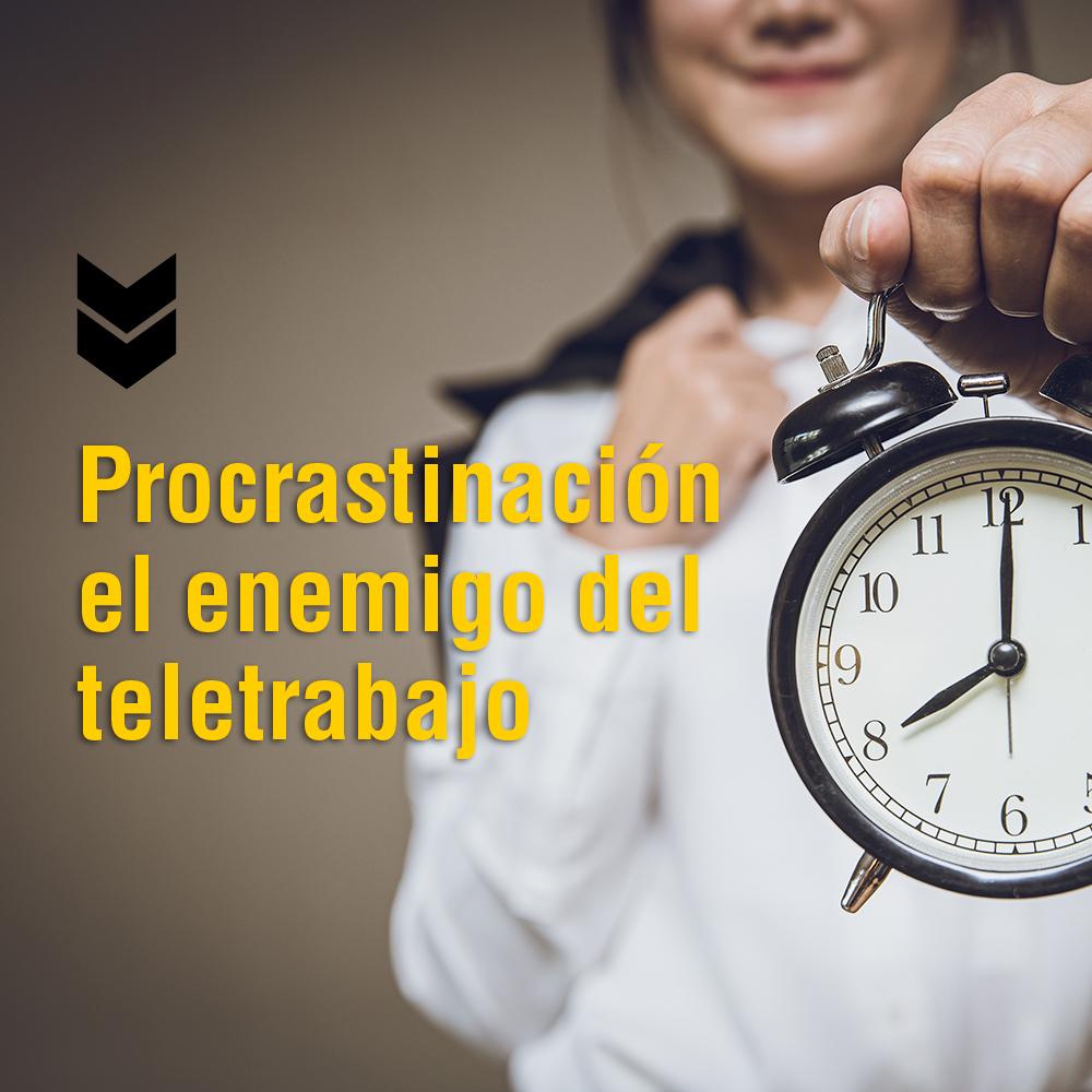 procastinación ahorra tiempo
